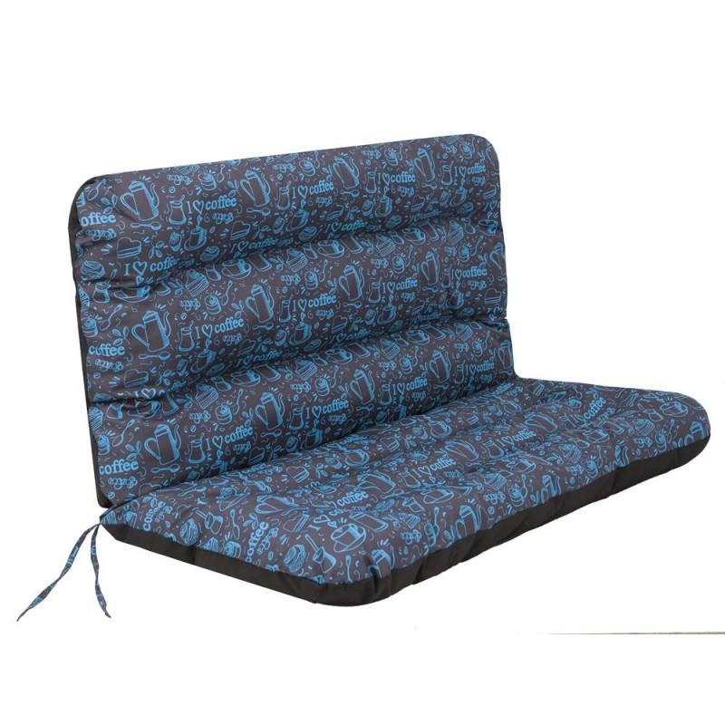 Poduszka Ania - Cofee Blue - 120x110 cm
