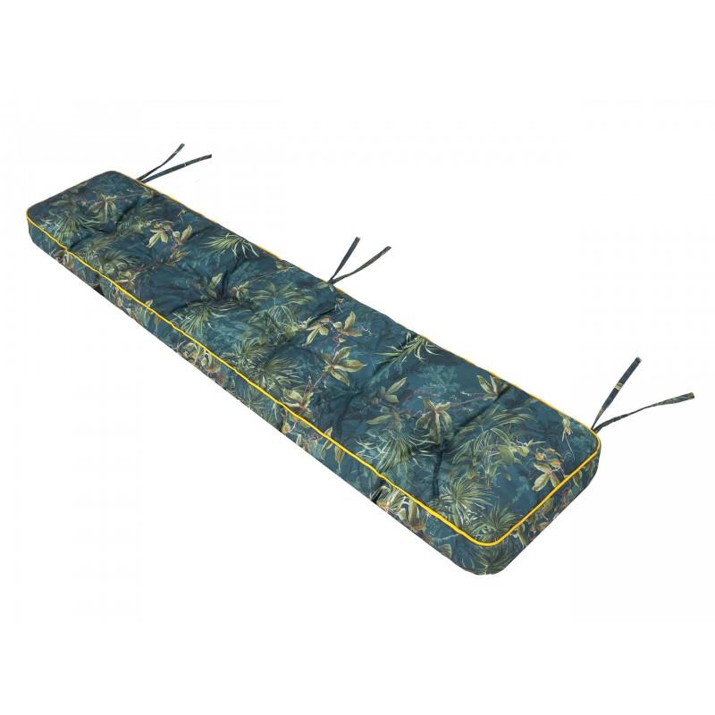 Poduszka na ławkę Etna - Zielona trawa- 120x40cm