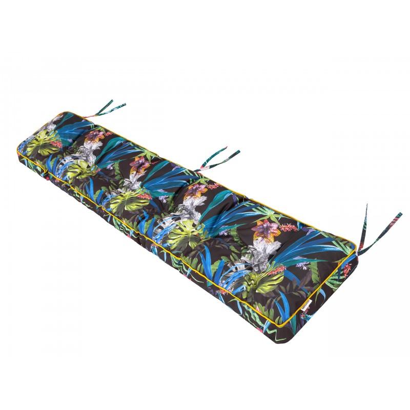 Poduszka na ławkę Etna - Kolorowe liście- 120x40cm