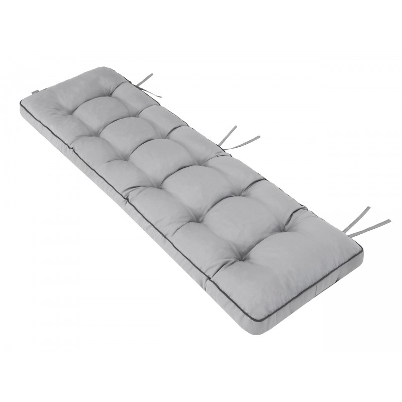 Poduszka na ławkę Etna - Popiel - 150x50cm