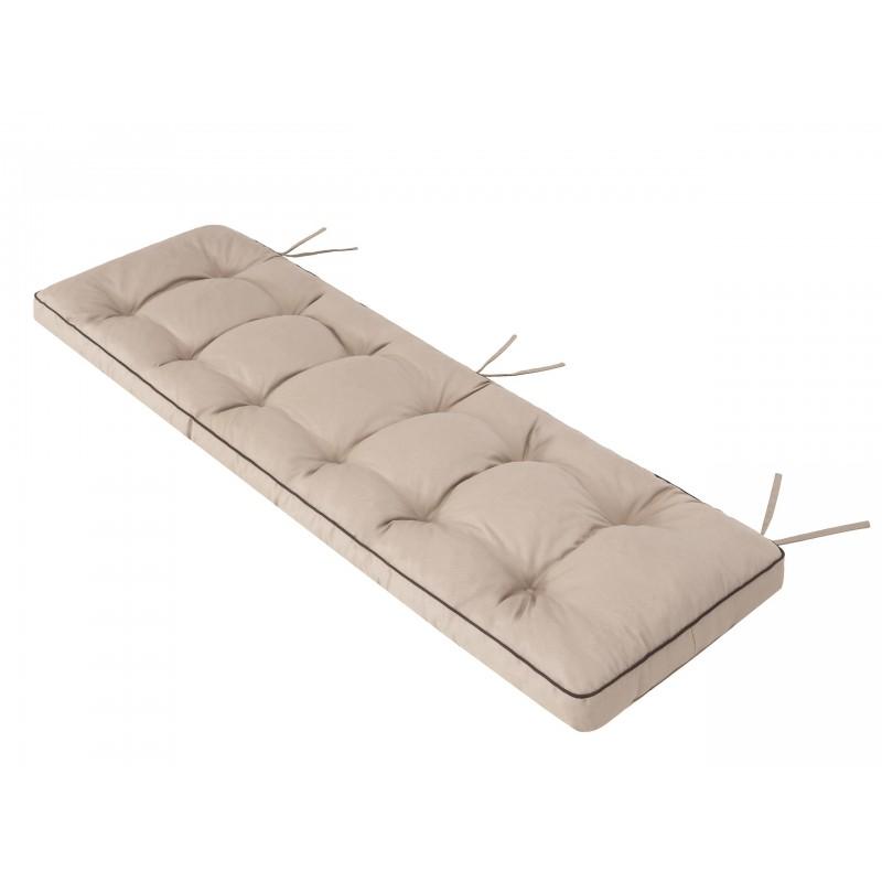 Poduszka na ławkę Etna - Beż - 180x50cm
