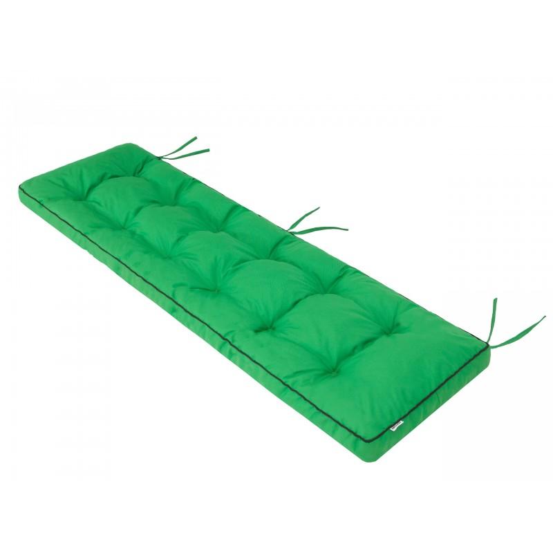 Poduszka na ławkę Etna - Zielony - 180x50cm