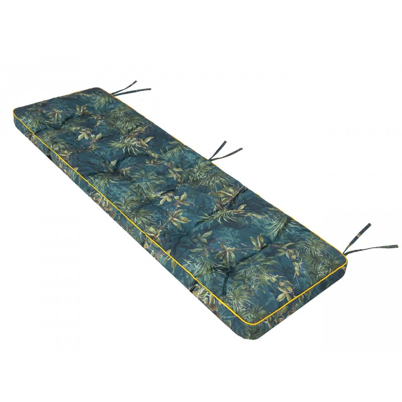 Poduszka na ławkę Etna - Zielona trawa - 180x50cm