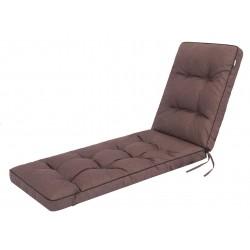Poduszka na leżak Hugo - Brąz