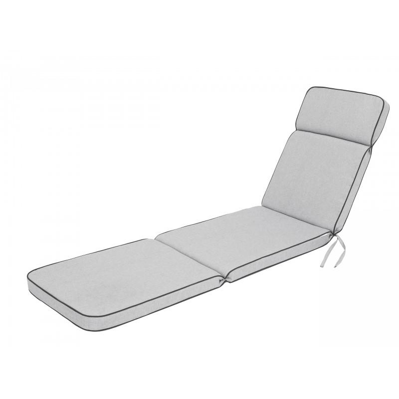 Poduszka na leżak Niko - Popiel